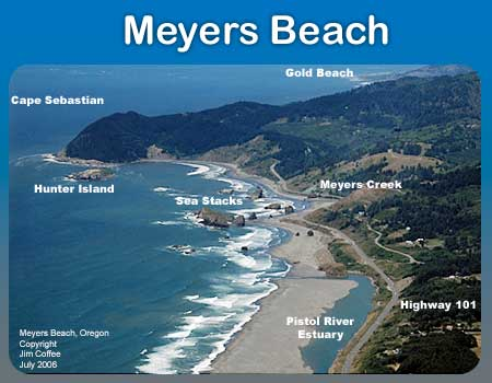 Myers Beach of Gold Beach Oregon