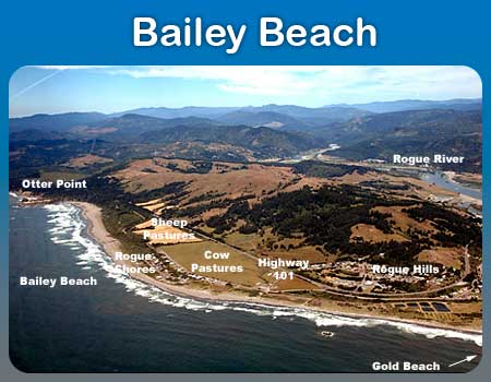 Bailey Beach - Gold Beach Oregon