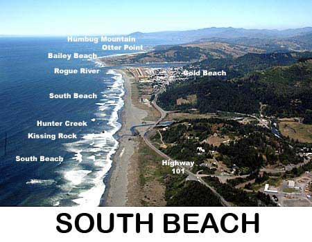 South Beach Park - Gold Beach Oregon