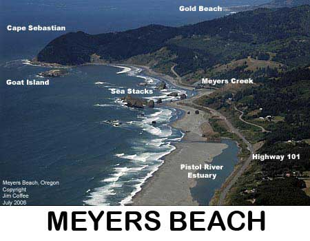 Meyers Beach - Gold Beach Oregon