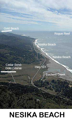 Nesika Beach - Gold Beach Oregon