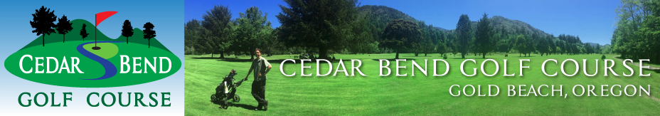 Cedar Bend Golf Gold Beach Oregon